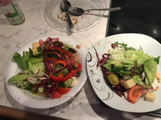 Morfelden-Walldorf, Tyskland: Salat