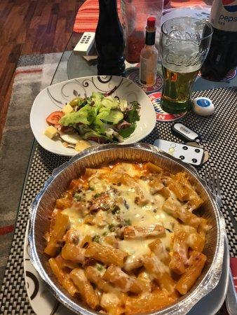 Morfelden-Walldorf, Tyskland: lecker Salat