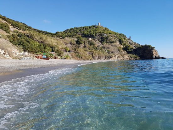 Cala de Maro. Agua limpia