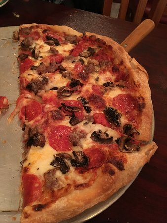 Rotterdam, État de New York : The pizza