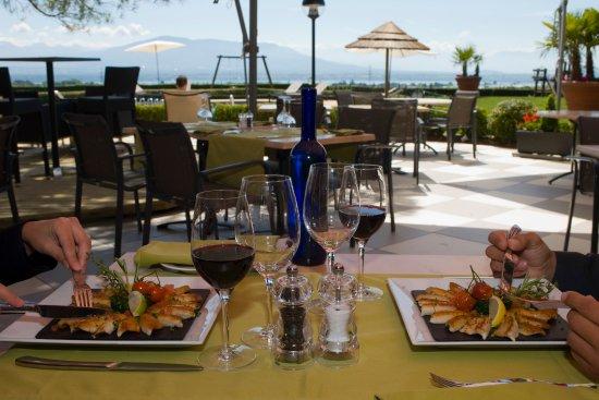 Chavannes-de-Bogis, Switzerland: Restaurant