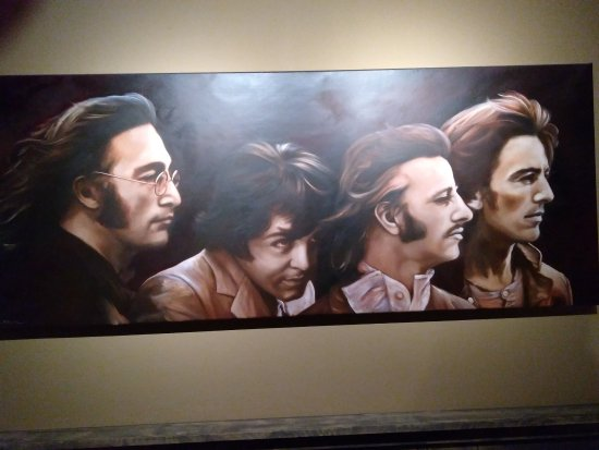Renesse, Pays-Bas : Prachtig schilderij in de bar.