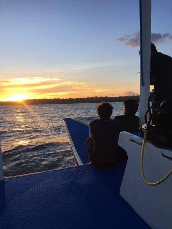 Another pleasing evening shot diving around Zamboanguita.