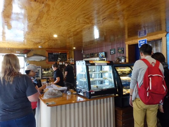 Twizel, New Zealand: Ordering and payment counter