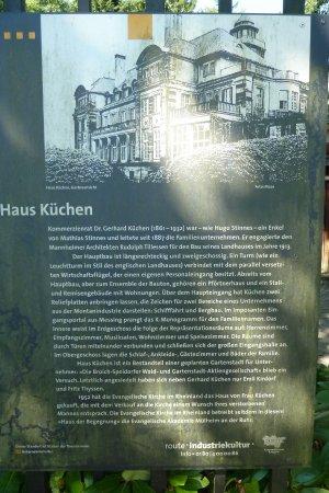 Muelheim an der Ruhr, Germania: Infotafel - nicht mehr ganz aktuell