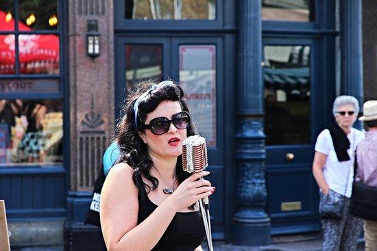 Street Musician - Broadway Market, London