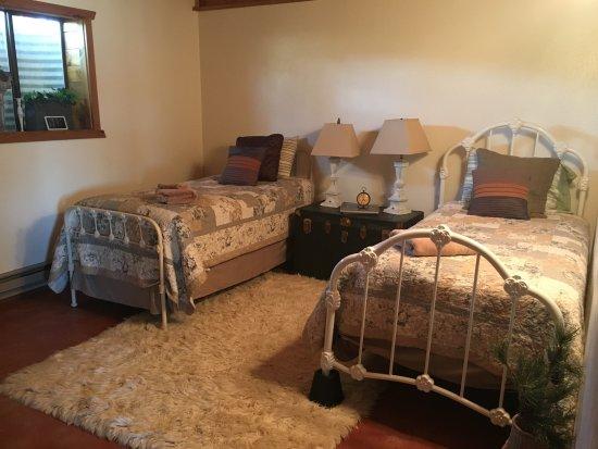 Bruneau, Αϊντάχο: Twin bedroom