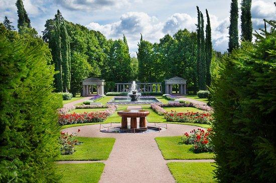 Kultaranta Garden in Naantali