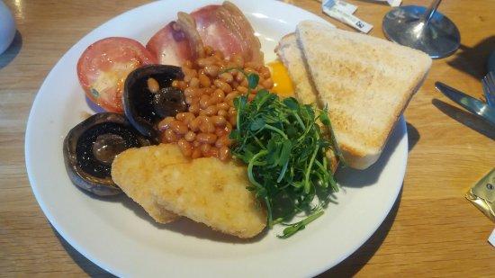 Horton, UK: excellent breakfast.