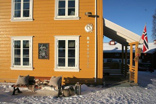Коммуна Гран, Норвегия: Velkommen! Åpen kafe i vår resepsjon