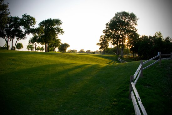 McKinney, TX: Our signature 8th hole. Rated top 18 holes in DFW by Dallas Morning News!