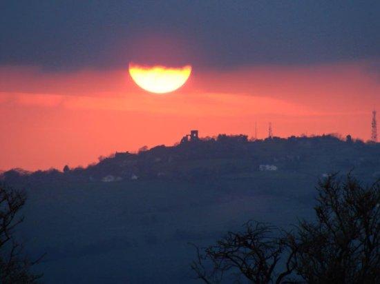 Biddulph, UK: Sunset at Chapel Croft