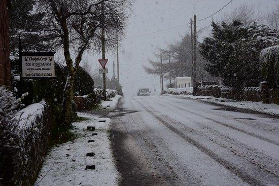 Biddulph, UK: Still Open despite the bad weather