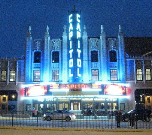 Flint, MI: Facade like Styx Paradise Theater album cover