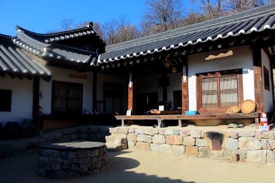 Andong, Korea Selatan: 임청각 내부 모습