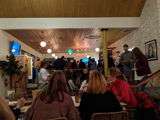Cornelius, NC: View of the new restaurant towards the bar area.