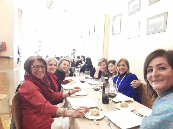 Restaurante Alboroque: Reunión de amigas