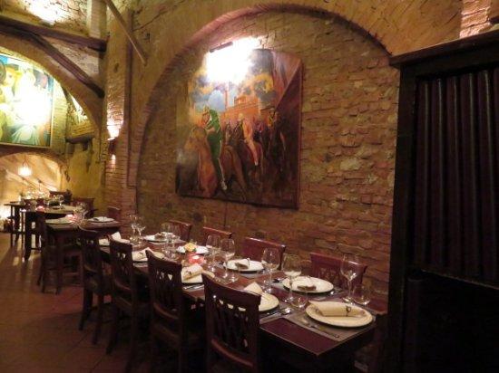 Lovely artwork foto antica osteria da divo siena tripadvisor - Ristorante da divo siena ...