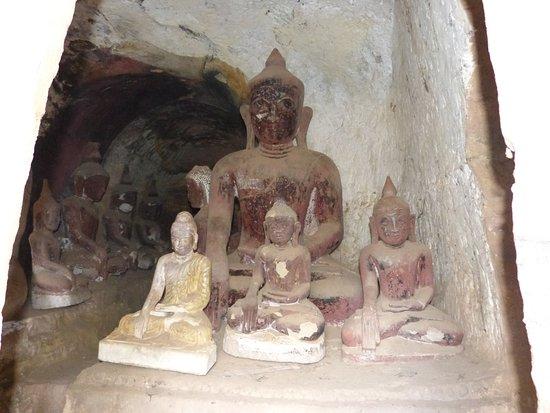 Monywa, Burma: le site de Po Win Taung