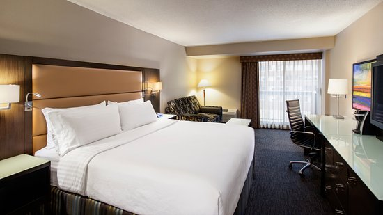 Holiday Inn Hotel & Suites Vancouver Downtown: King bed and pull out sofa