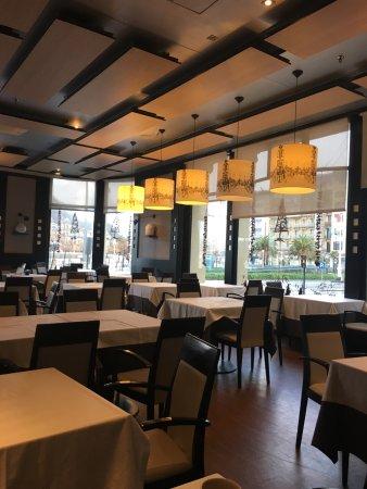 Hotel de Londres y de Inglaterra: Salle de restaurant