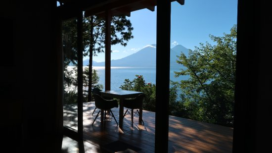 Lake Atitlan, Gwatemala: View from the Artists' Loft