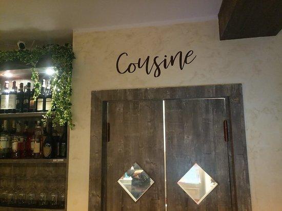 Shabby Restaurant da Sergio: entrata cucina