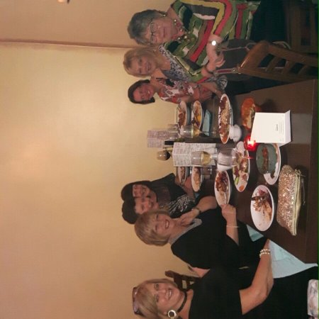 Ormskirk, UK: Xmas meal with the girlies