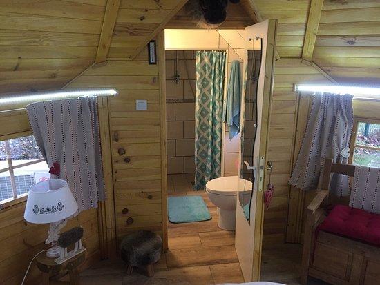 Chatillon-sur-Broue, France: SDB et WC du KOTA