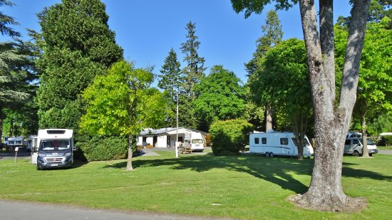 Geraldine, New Zealand: Spacious campervan pitches