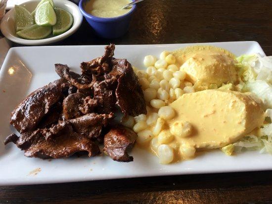 Aromas authentic peruvian cuisine anticuchos appetizer for Authentic peruvian cuisine