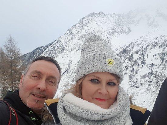Argentière, Francia: selfie