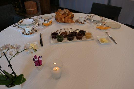Château de Degrés : An amazing breakfast and all homemade!
