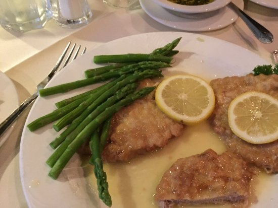 The Breakers on the Ocean Restaurant: Veal Piccata! Yum!