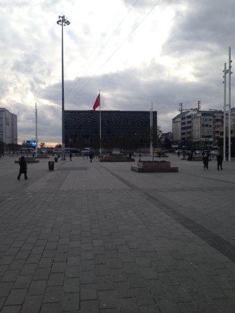 Taksim Gezi Park: along of the Taksim