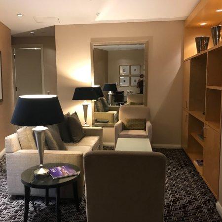 Sofitel Sydney Wentworth : Nice suite and good service