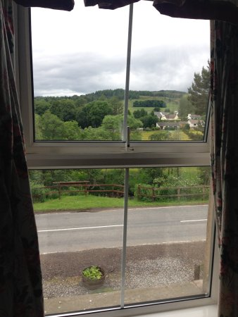 Kirkmichael, UK: View from room