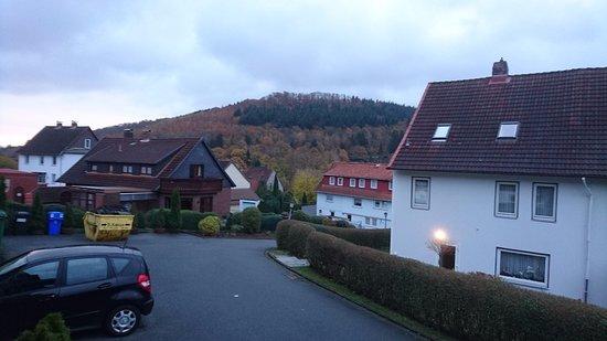 Wolfshagen, Германия: Lage in kleiner Ortschaft im Harz.