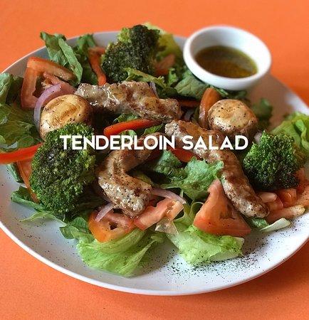 Nuevo Arenal, Costa Rica: Imported Tenderloin Salad