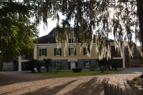 Destrehan Plantation: Plantation House from Rear