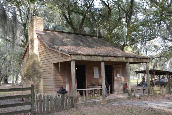 Destrehan Plantation: Slave House (moved from original location)