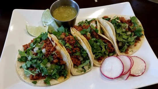 Auburn, WA: Chorizo Street Tacos.