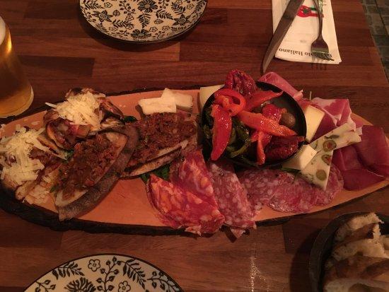 L'angolo Italiano: Antipasta Grande kan virkelig anbefales