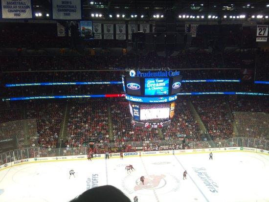 brand new 843e0 d9b44 Inside The Prudential Center (Packed To Capacity) - Picture ...