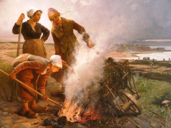Fecamp, Francia: les ramasseuses de varech