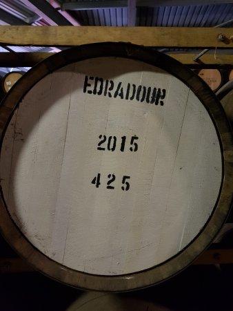 Pitlochry, UK: Edradour cask