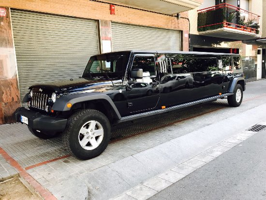 Province of Barcelona, Spain: Magnum jeep