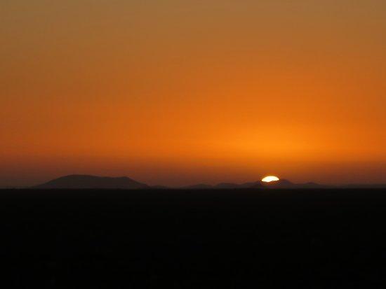 Khorixas, Namibia: Sundowner