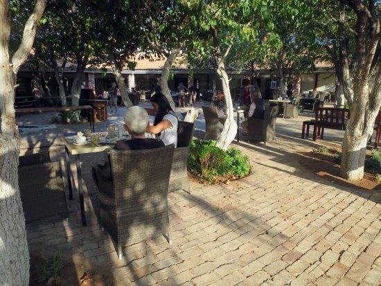 Khorixas, Namibia: Breakfast