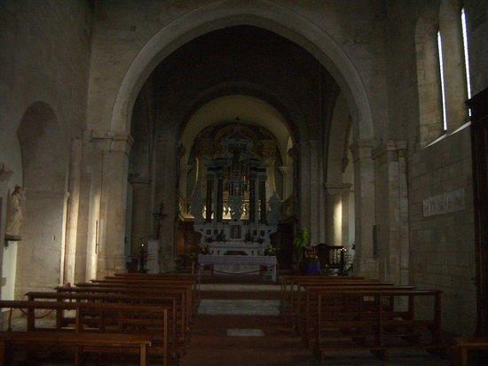 La Collegiata di San Quirico : interno chiesa